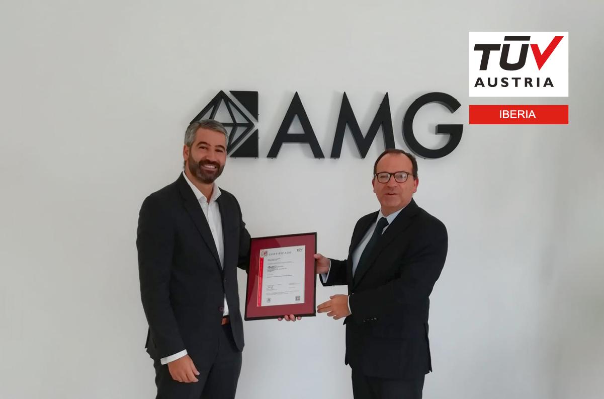 Banner AMG Services recebe os certificados TÜV Austria