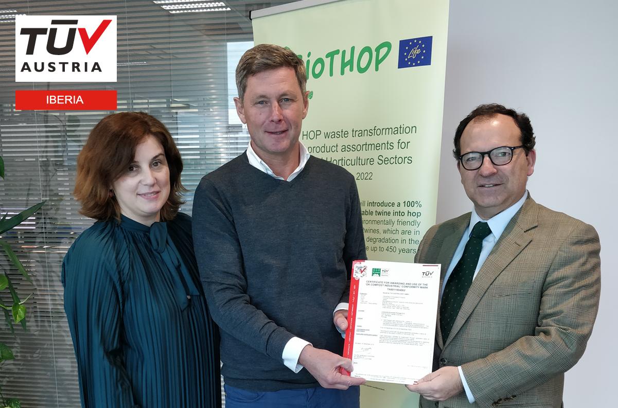 Banner Lankhorst Euronete Portugal obteve certificação