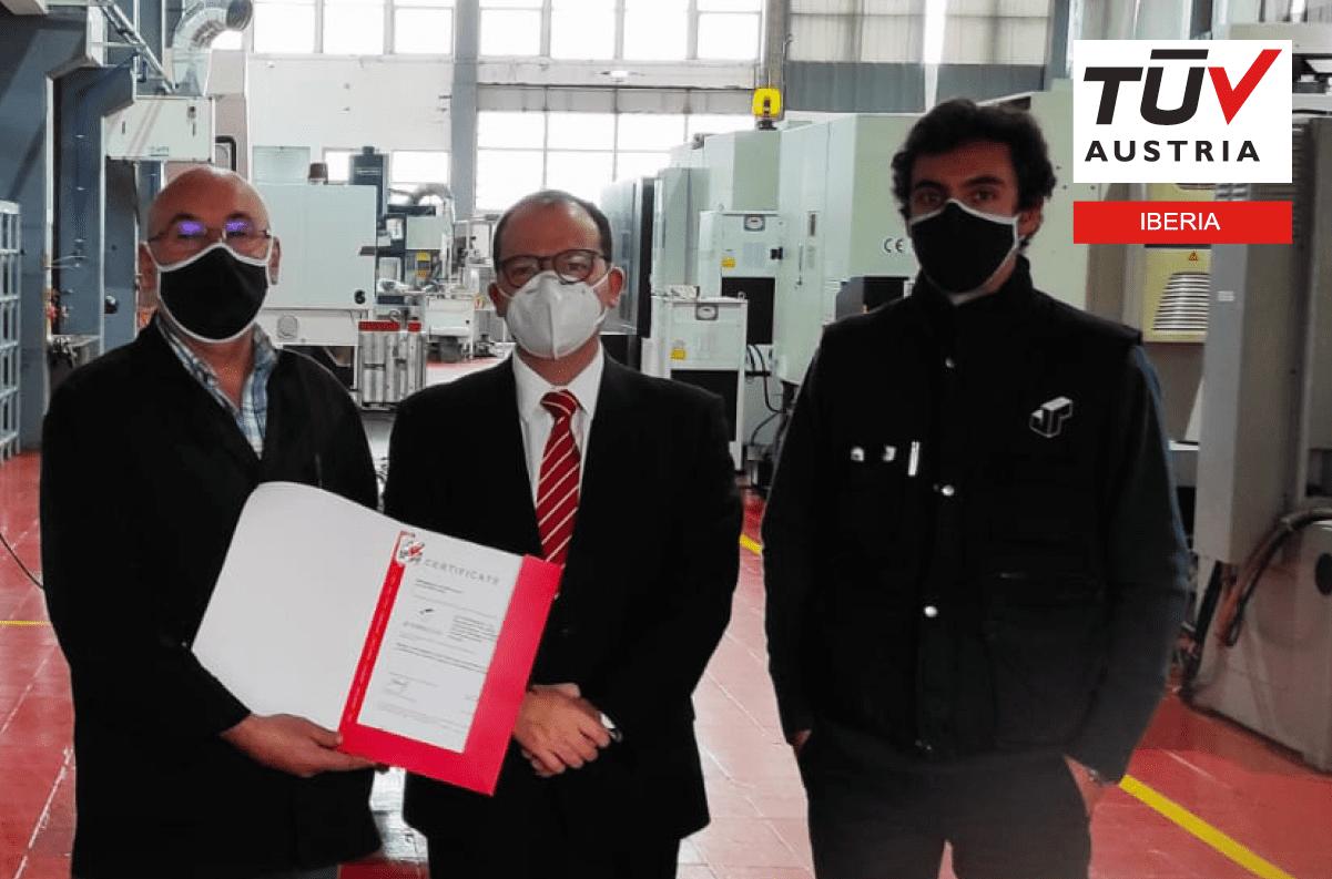 Banner JETEPRODESIGN recebe da TÜV AUSTRIA a renovação do certificado ISO 9001:2015!