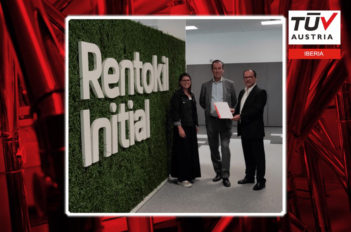 Banner Rentokil Initial escolhe TUV Austria como Organismo de Certificação